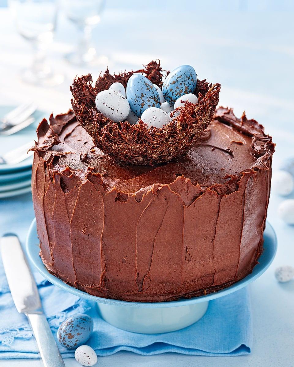 Recette de gâteau Nid de Pâques