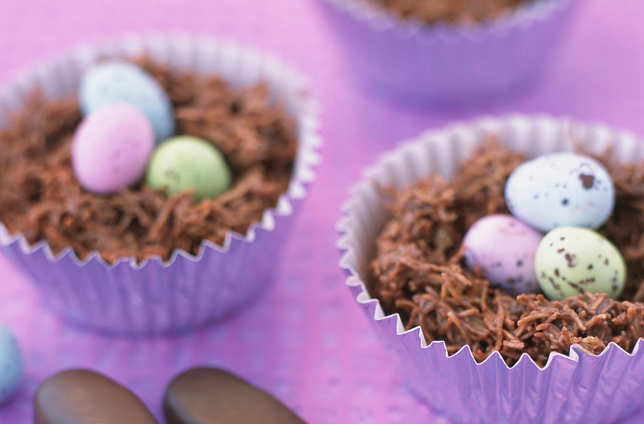 Délicieux cupcakes au chocolat.