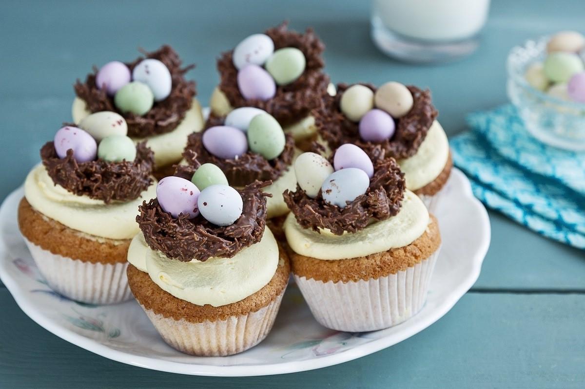 Délicieux mini cupcakes.