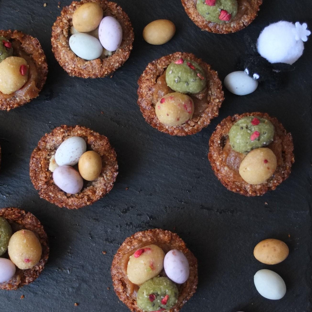 Mini cupcakes sans sucre.