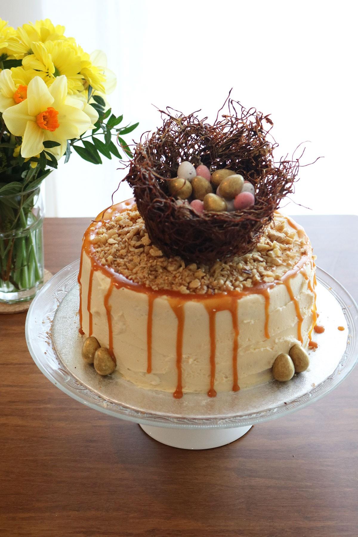 Décoration de gâteau superbe.