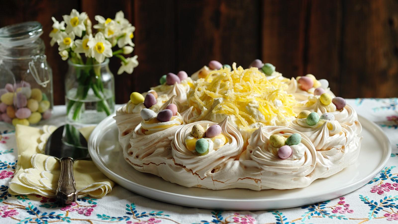 Une interprétation différente du gâteau Pavlova.
