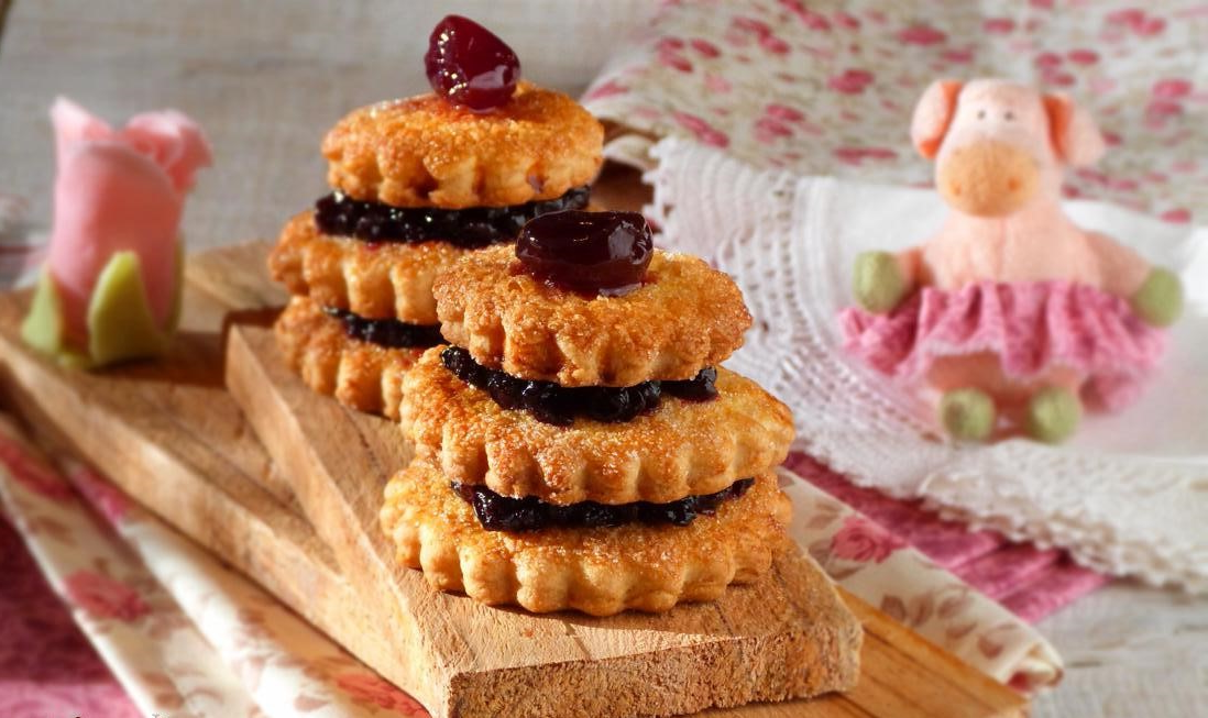 Recettes de biscuits aux cerises pour Pâques