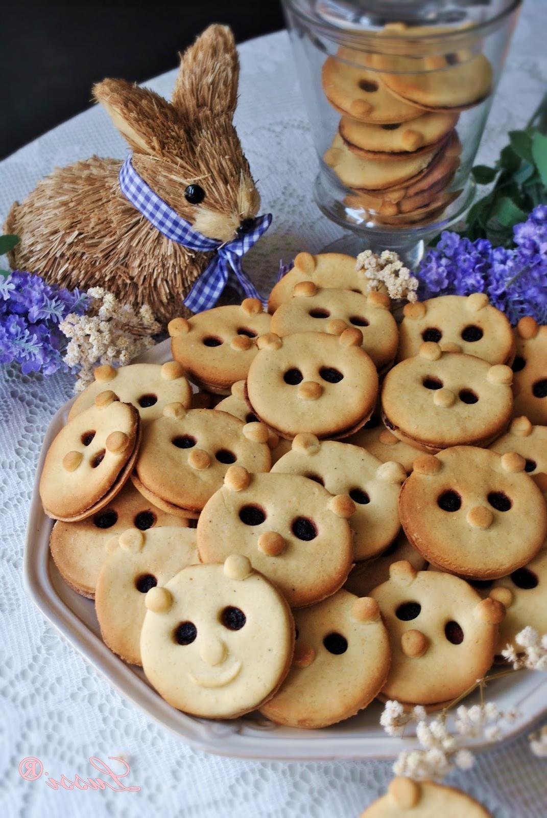 Recettes de biscuits à l'ours de Pâques