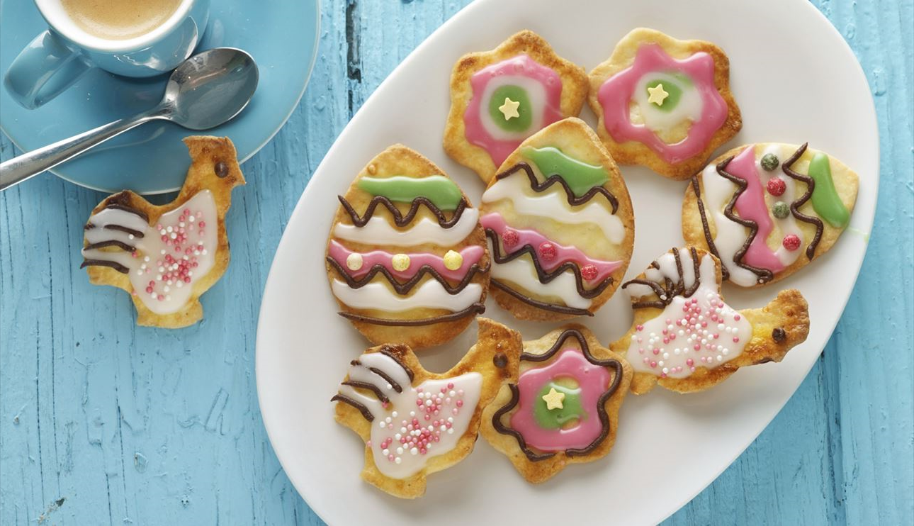 Recettes de biscuit de Pâques avec décoration