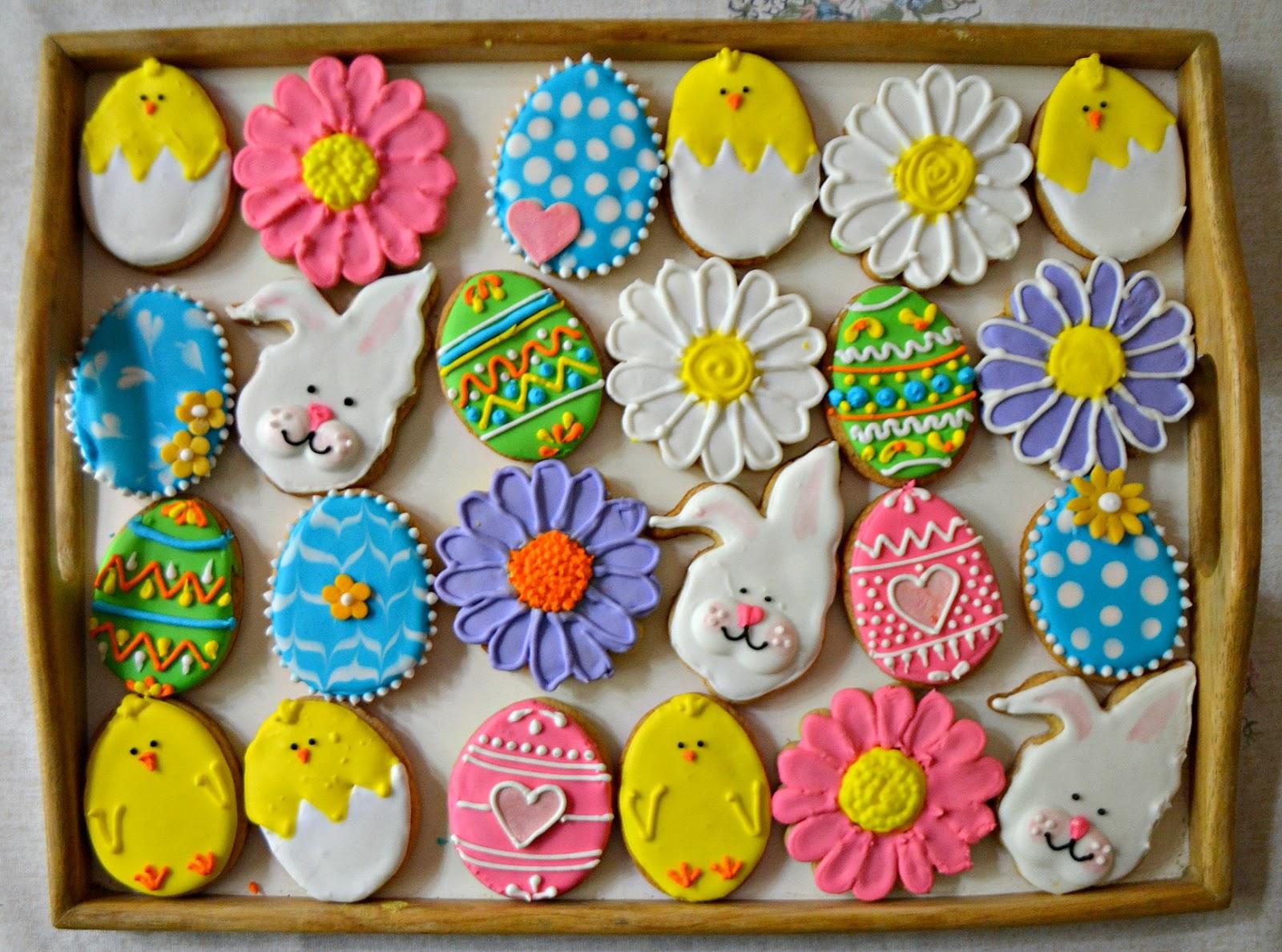 Recettes de biscuits aux œufs glacés pour Pâques