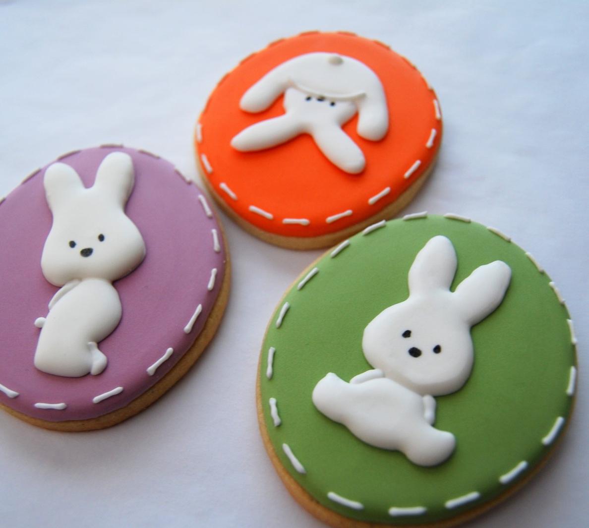 Recette de biscuits sucrés au fondant pour Pâques