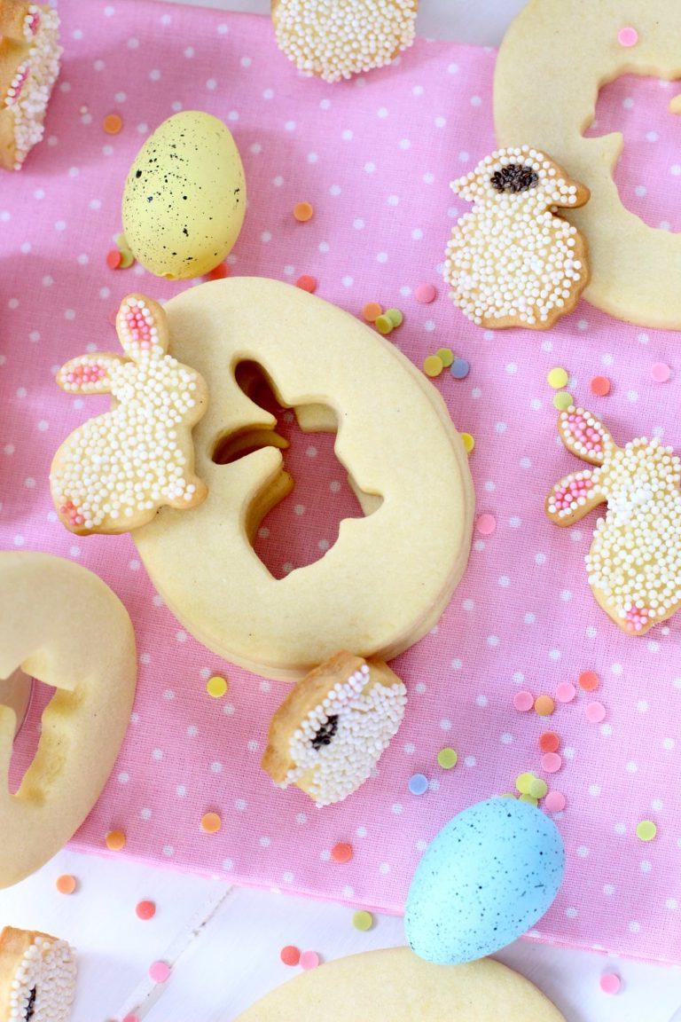 Recette de biscuit sucrés au beurre pour Pâques