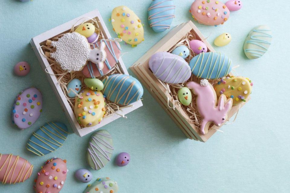 Recettes de biscuits aux oeufs de Pâques