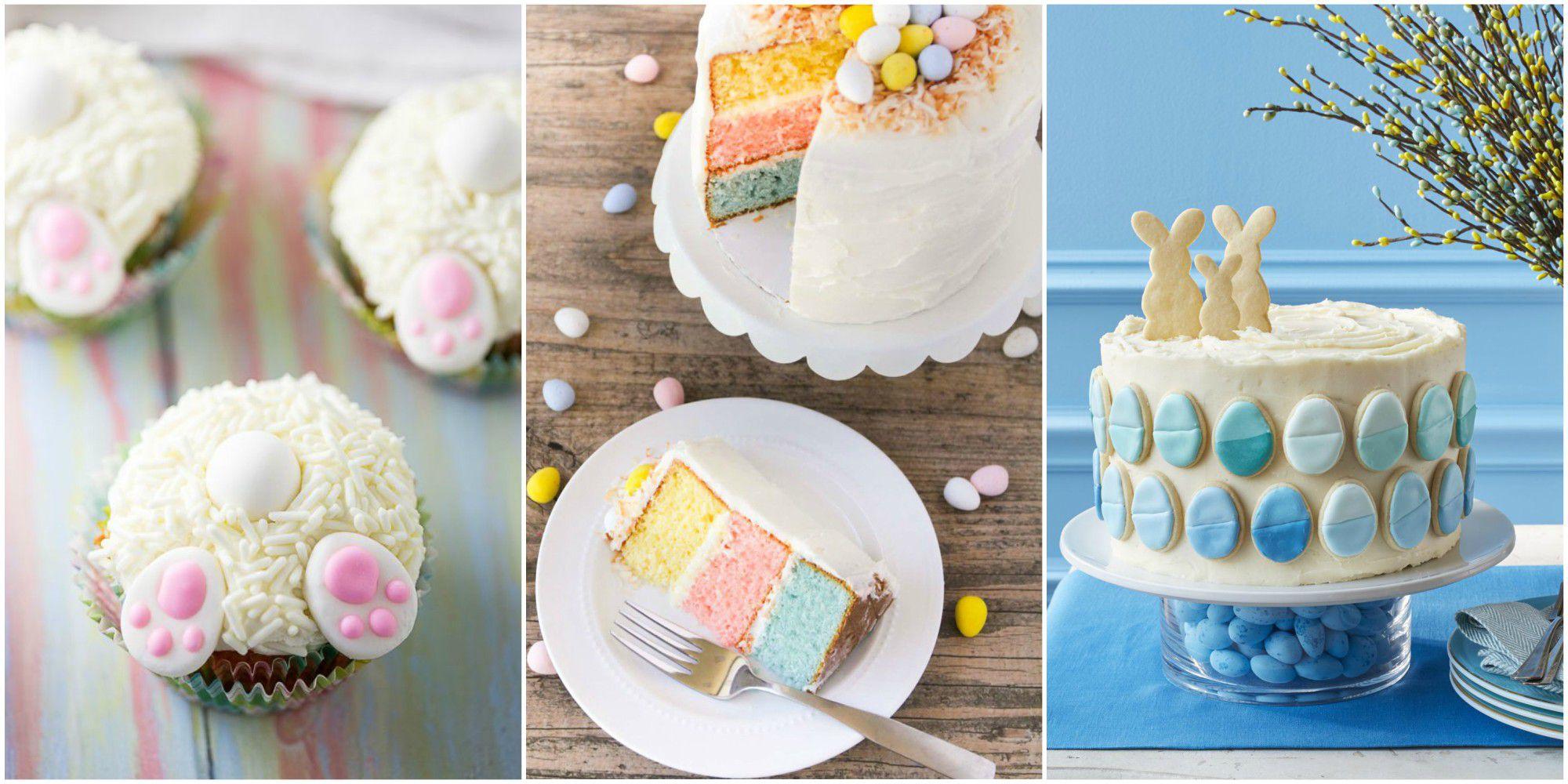 Trois recettes de gâteaux de Pâques