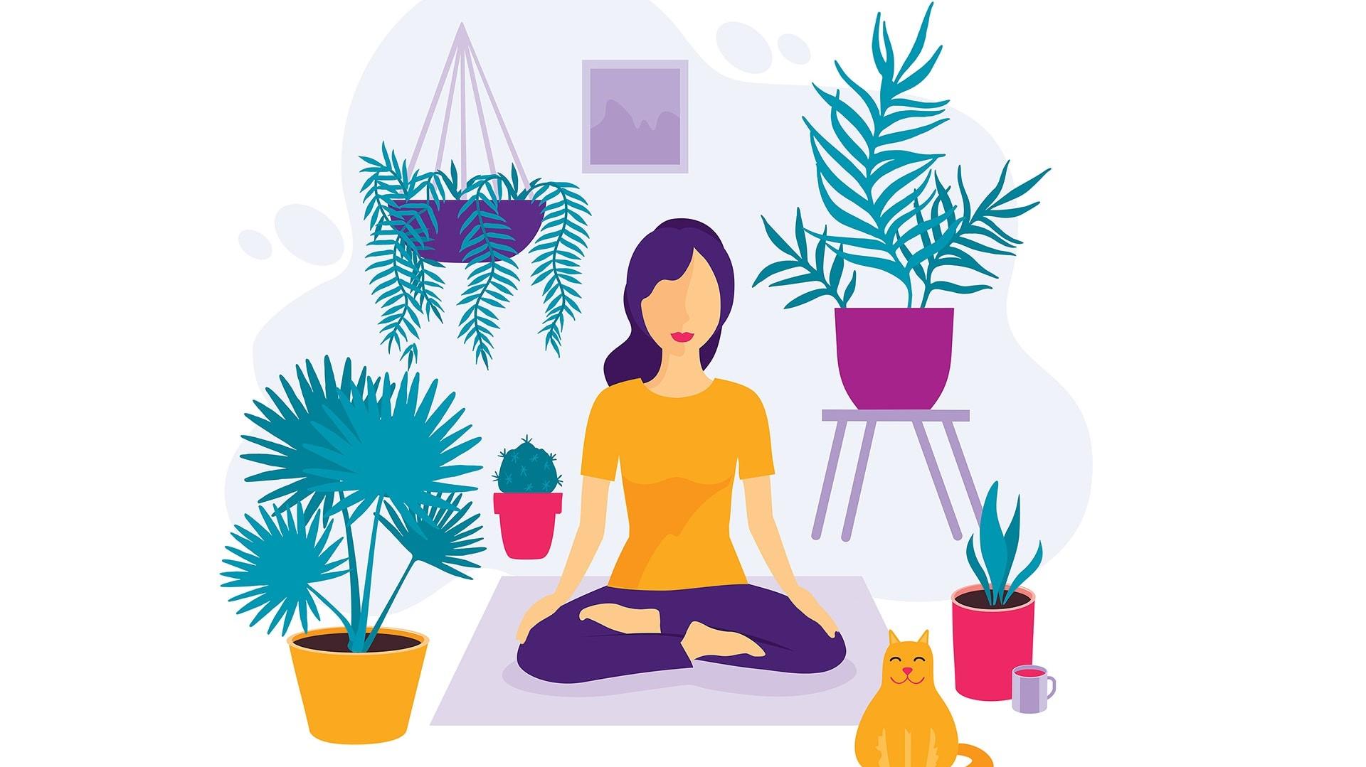 La méditation est une étape importante vers un mode de vie sain.
