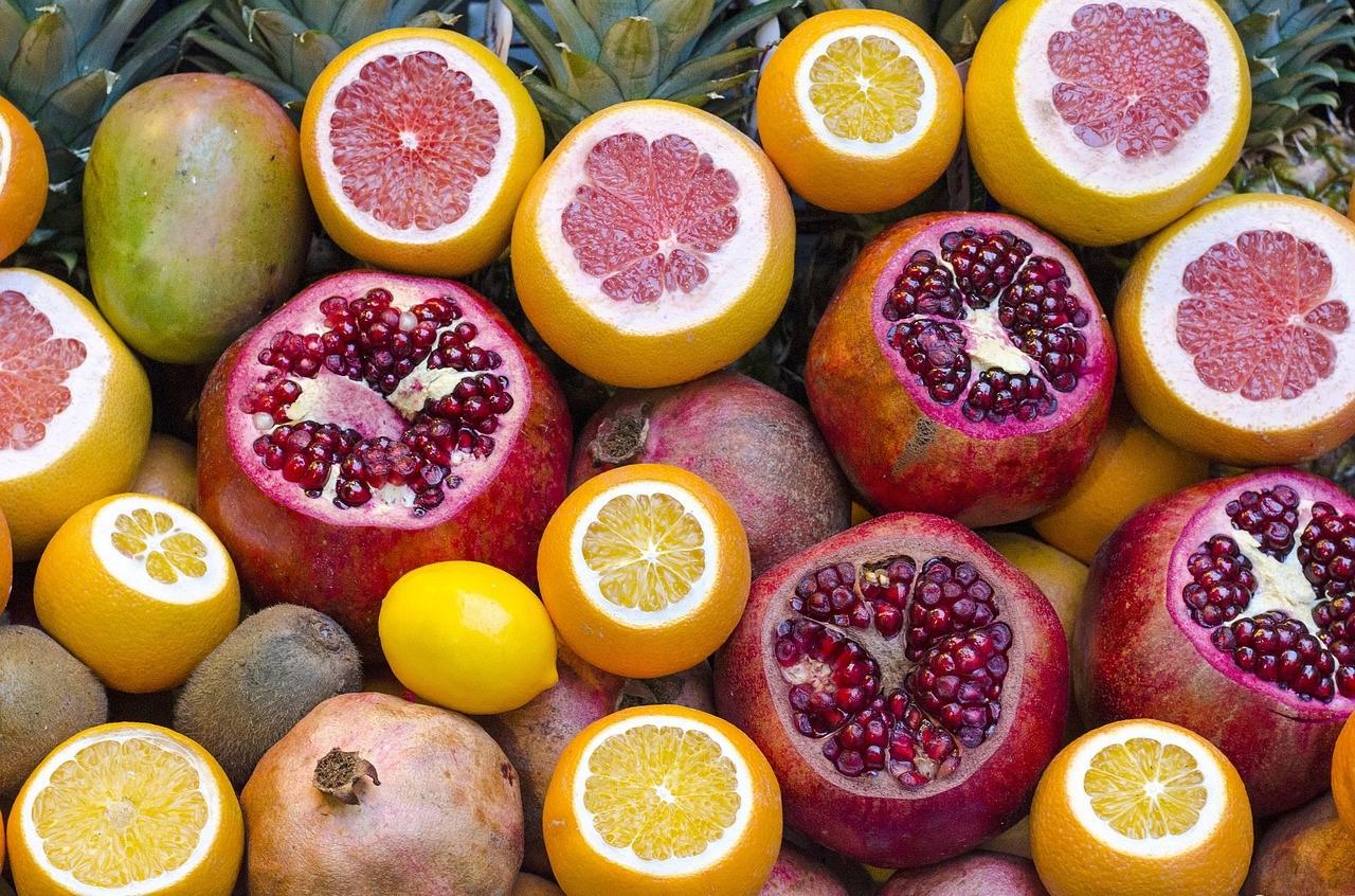 Les agrumes sont une source précieuse de vitamine C.