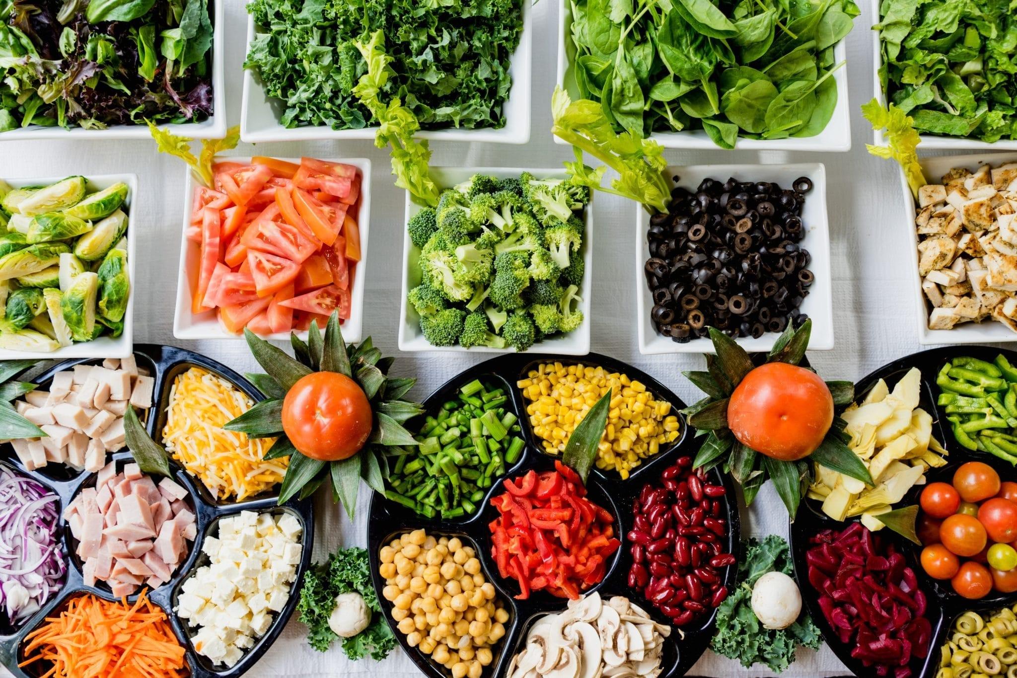 La bonne nourriture est synonyme de bonne santé.