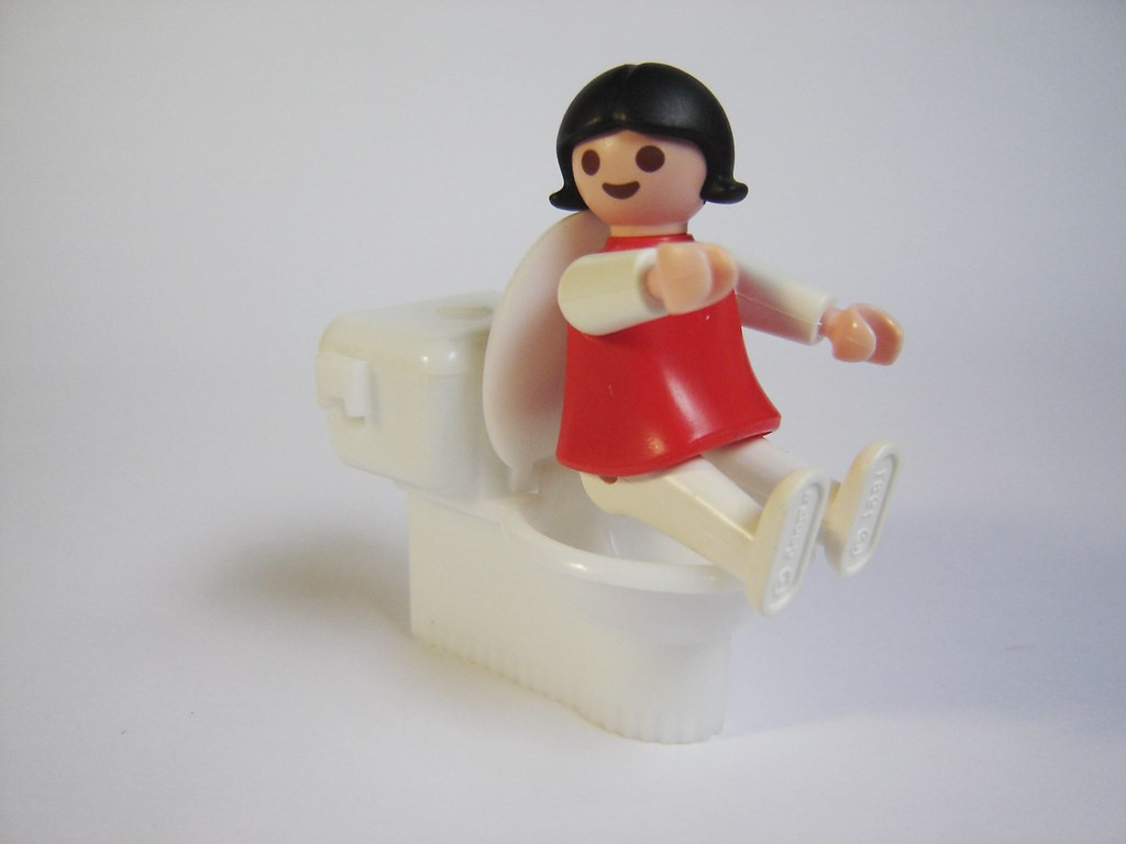 Figurine Playmobil.