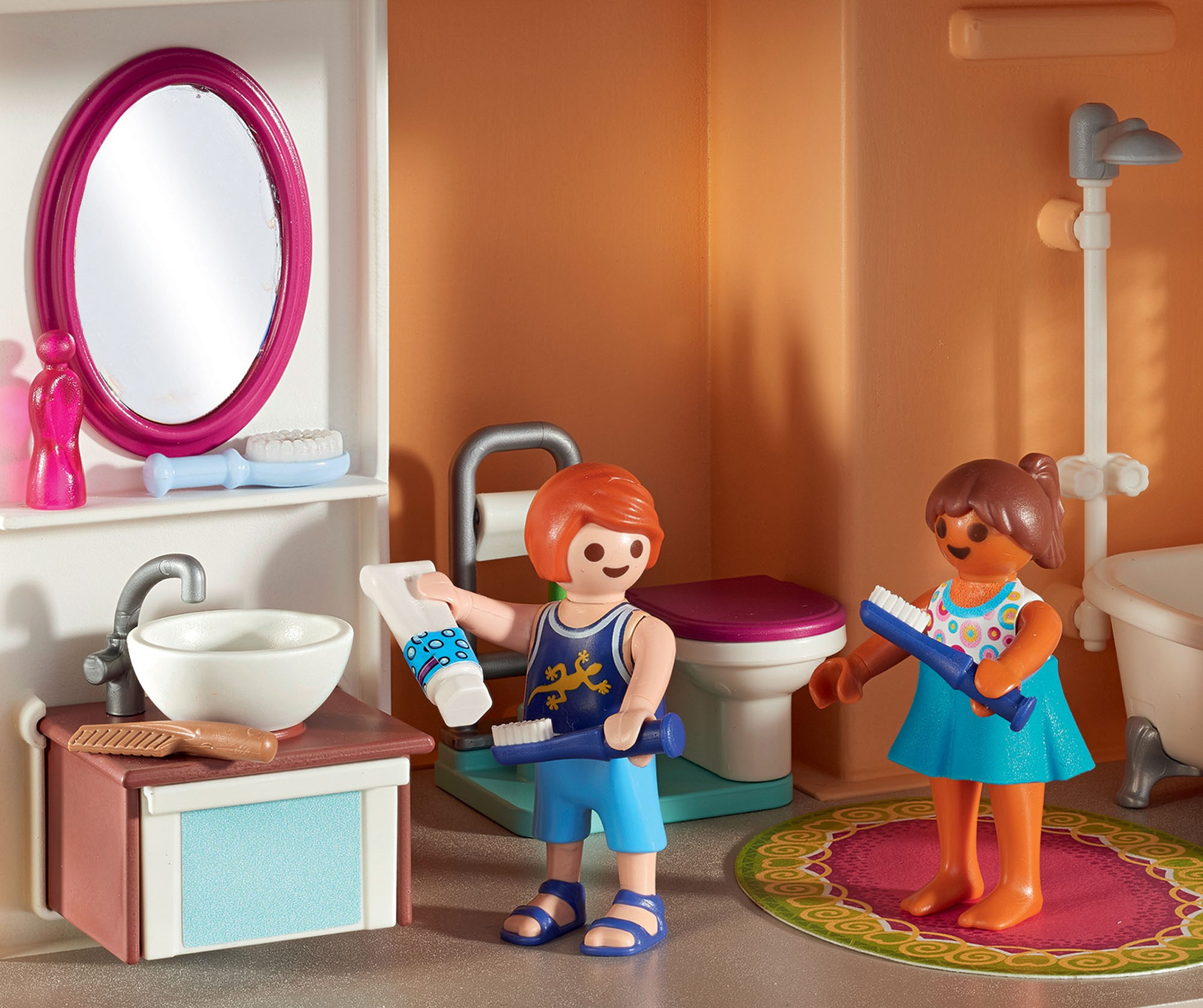 Le principe de jeu unique stimule l'imagination et la créativité et favorise ainsi le développement de l'enfant.