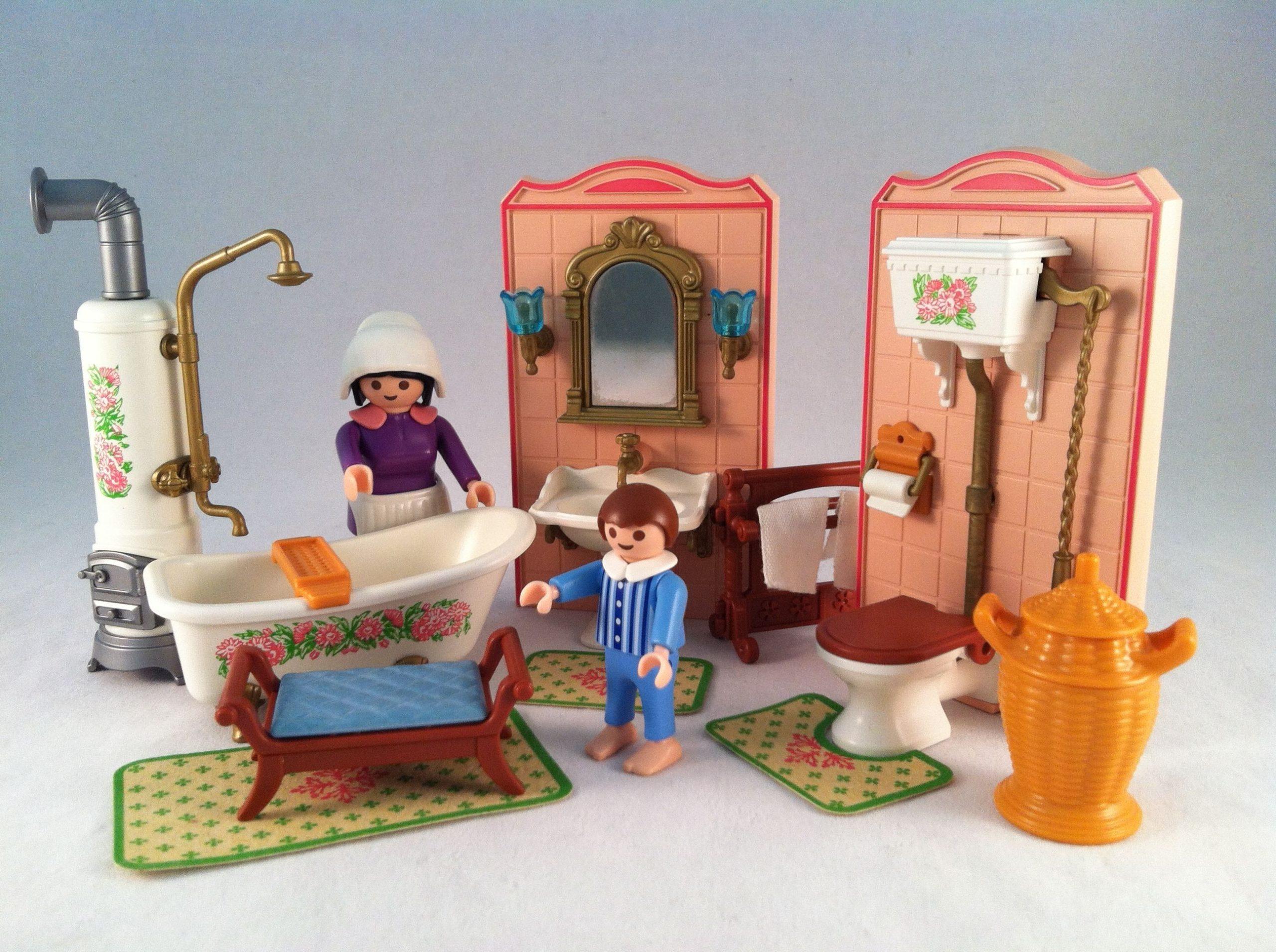 Salle de bains Playmobil victorienne.