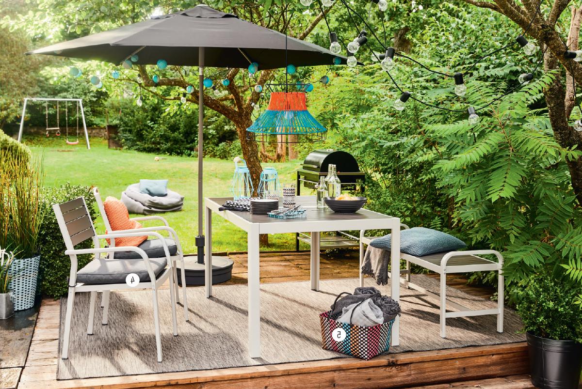 Salon de jardin Ikea - barbecue de jardin