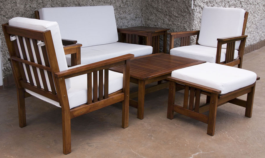 Salon de jardin Ikea - meubles en bois
