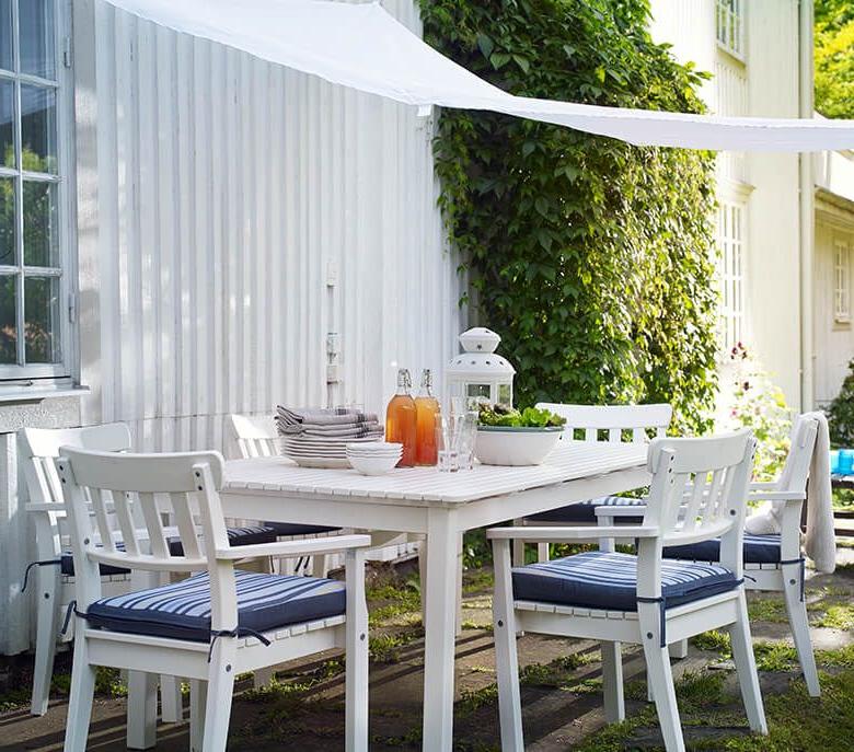 Idée de déjeuner dans le jardin Ikea