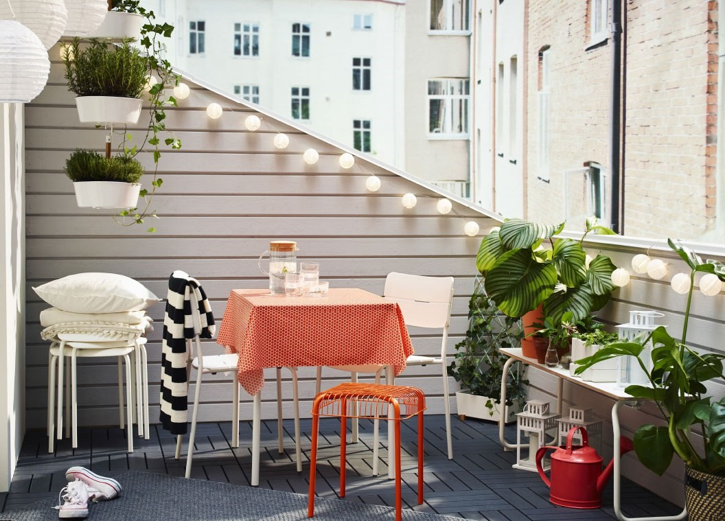 Terrasse de meubles Ikea