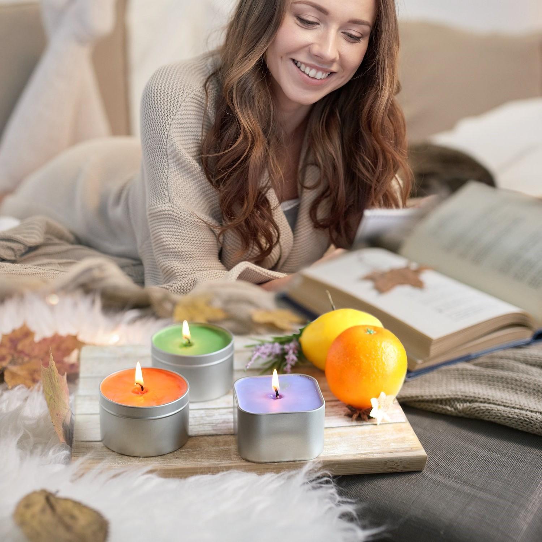 Les bougies symbolisent la célébration, signifient la romance, apaisent les sens, définissent la cérémonie et accentuent le style des décors d'intérieur.
