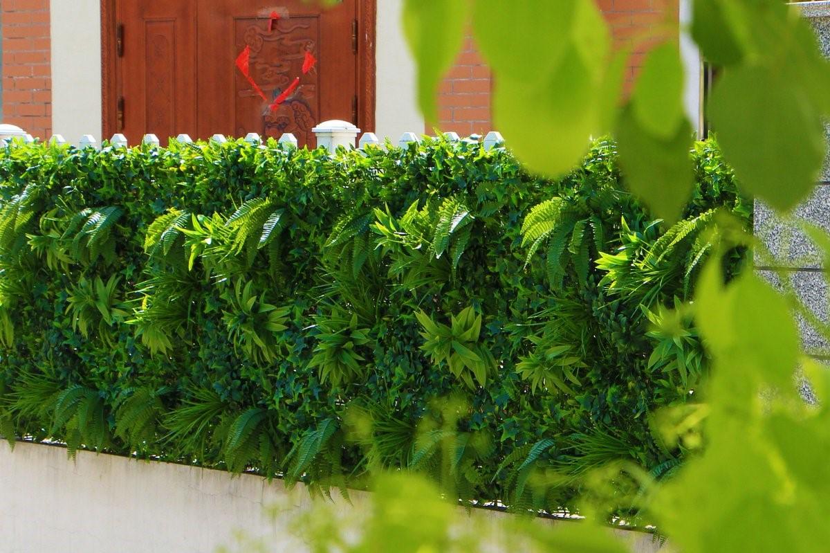 Haie artificielle pour votre jardin.