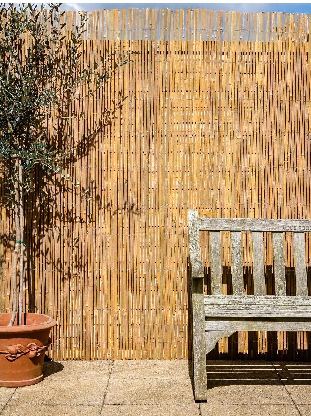 Brise-vue pas cher en bambou.