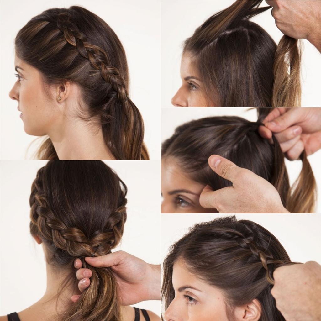 Comment tisser des cheveux dans une belle coiffure
