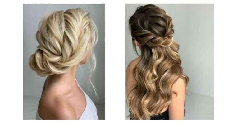 Cheveux doucement attachés