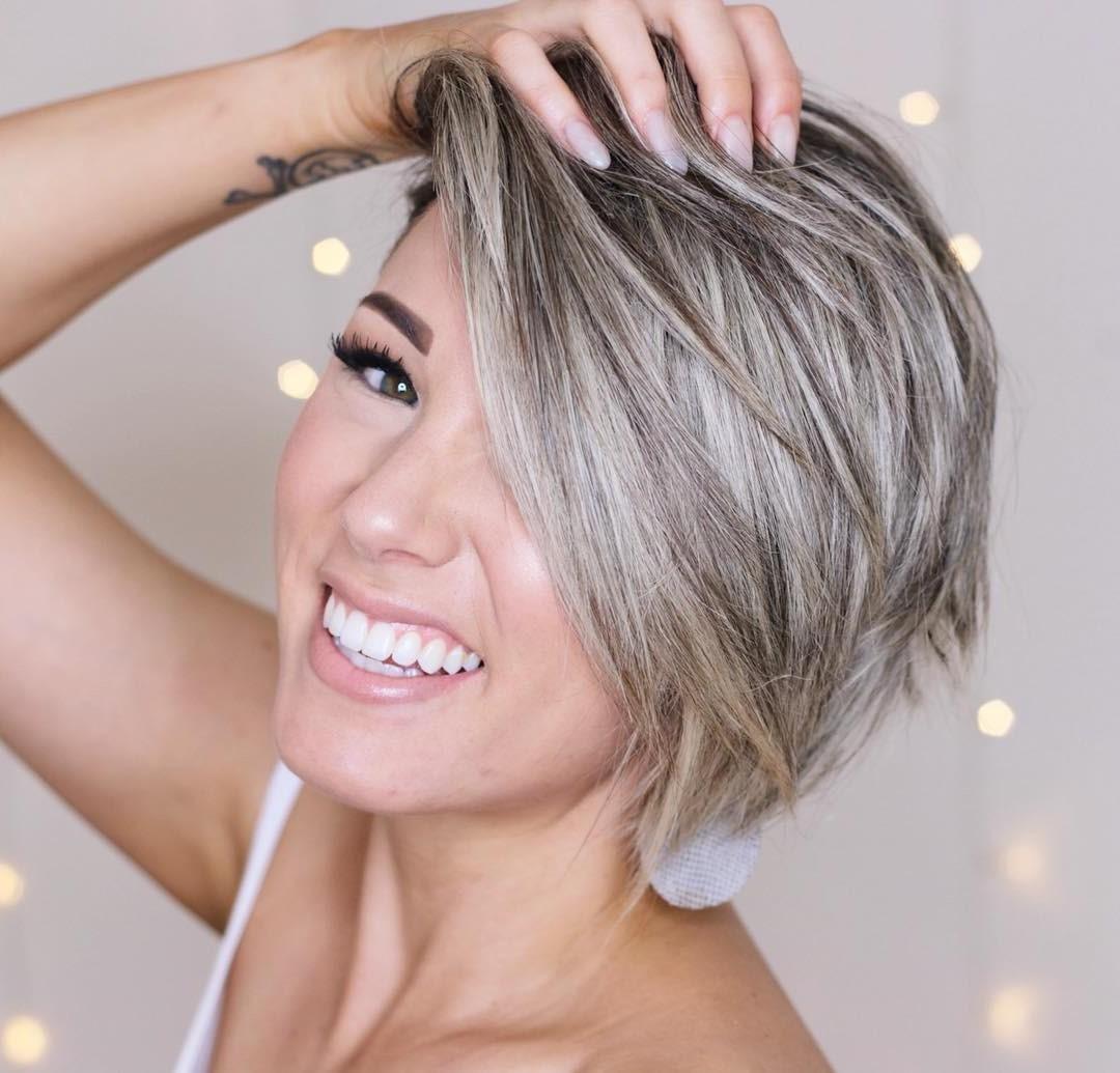 Coifffures courtes dégradées 2020: ajoutez une nouvelle nuance à vos cheveux.