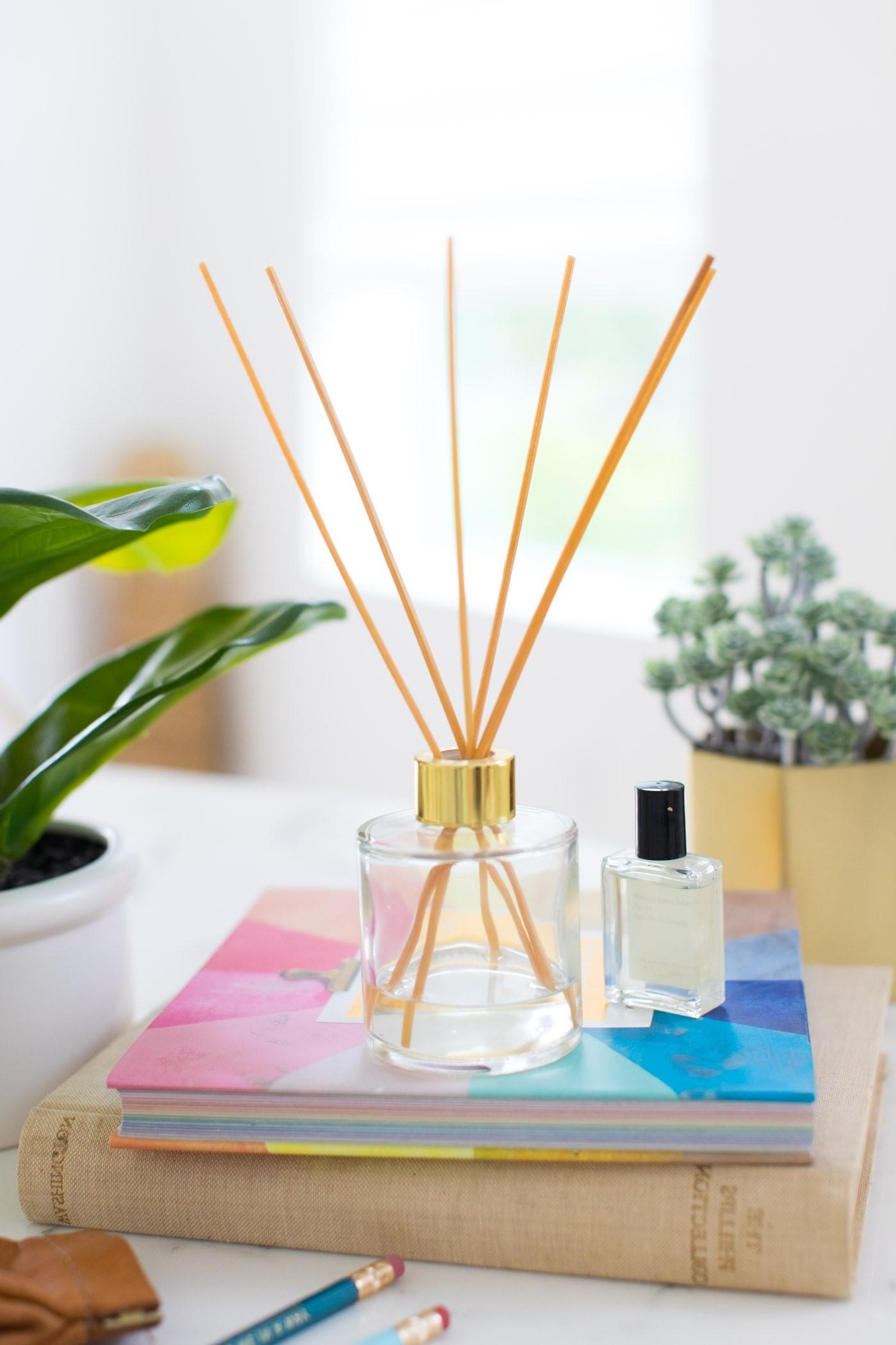 Diffuseur de parfum DIY.