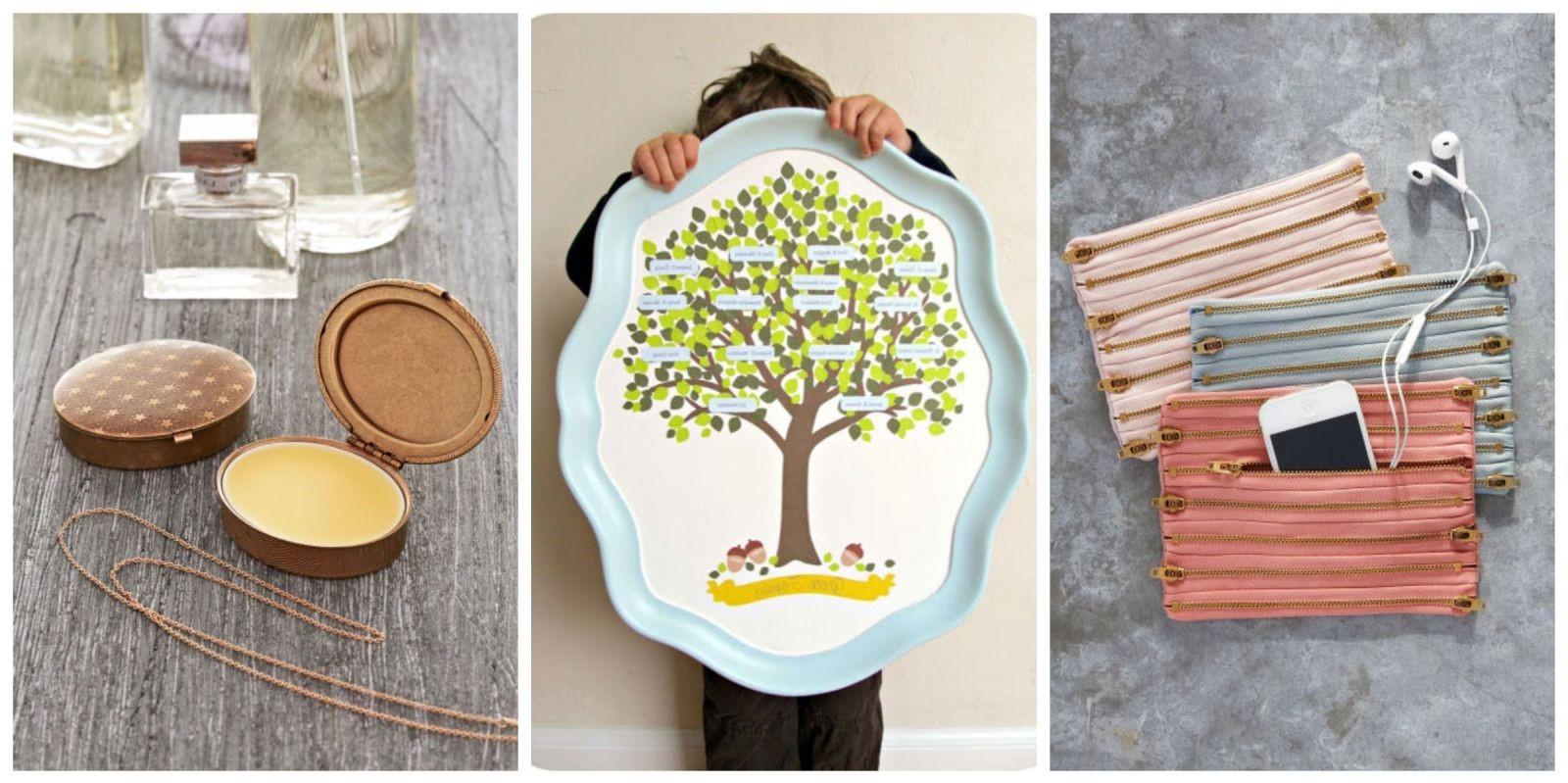 Fête des mères sur Pinterest: cadeaux bricolage bon marché.