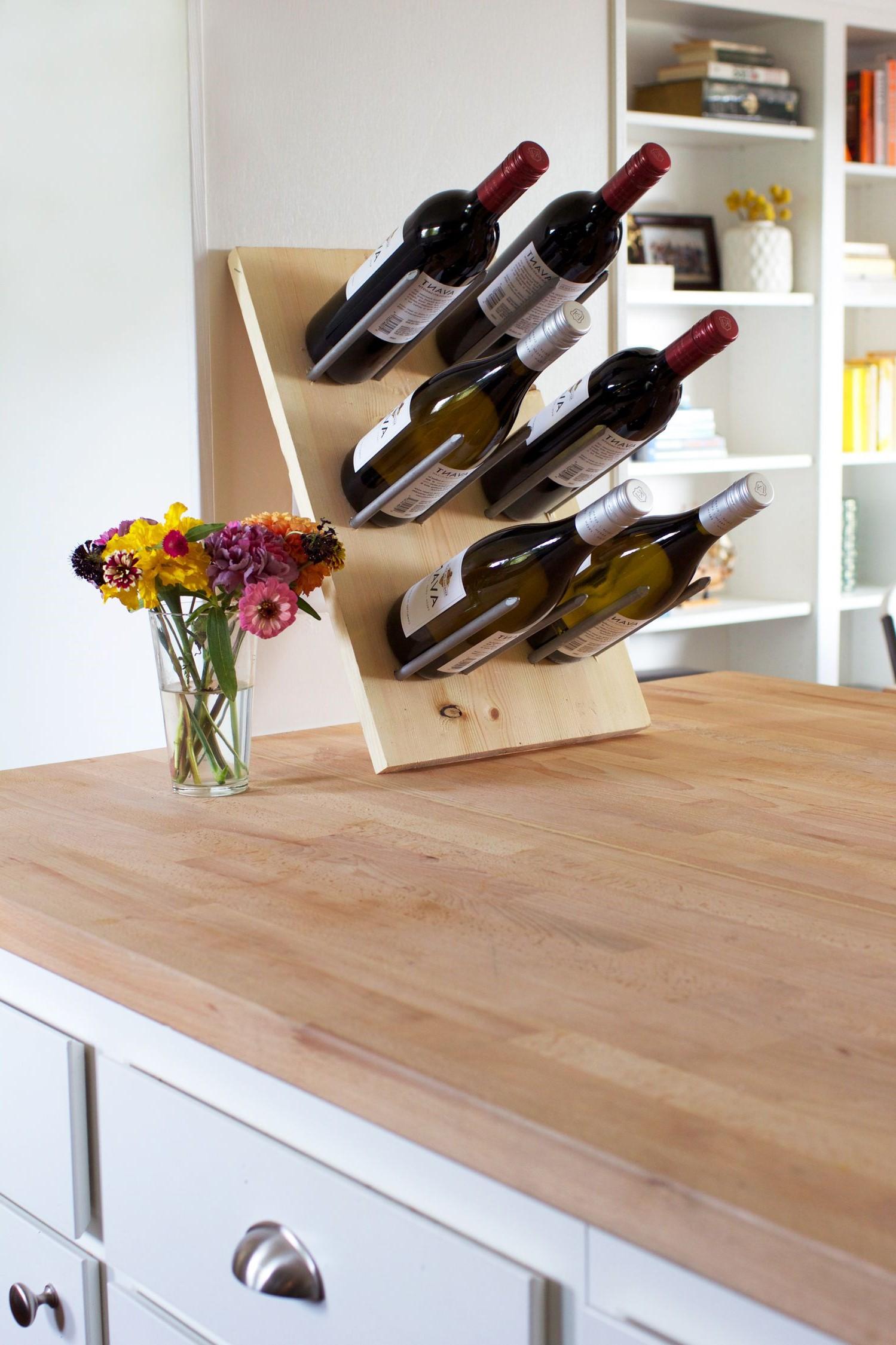 Casier à vin: quelle brillante idée!