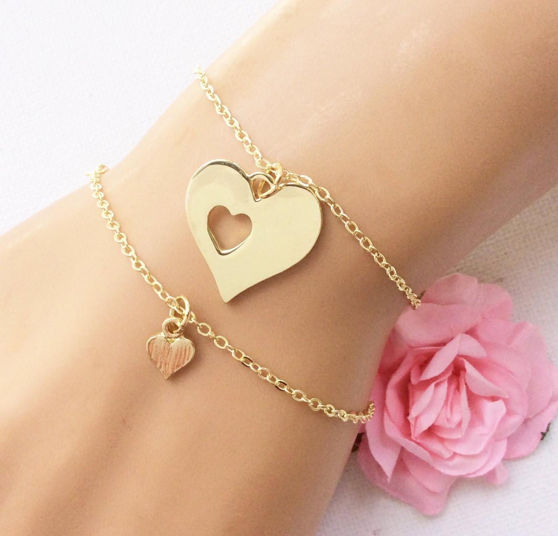 Bracelet pour mère et fille.