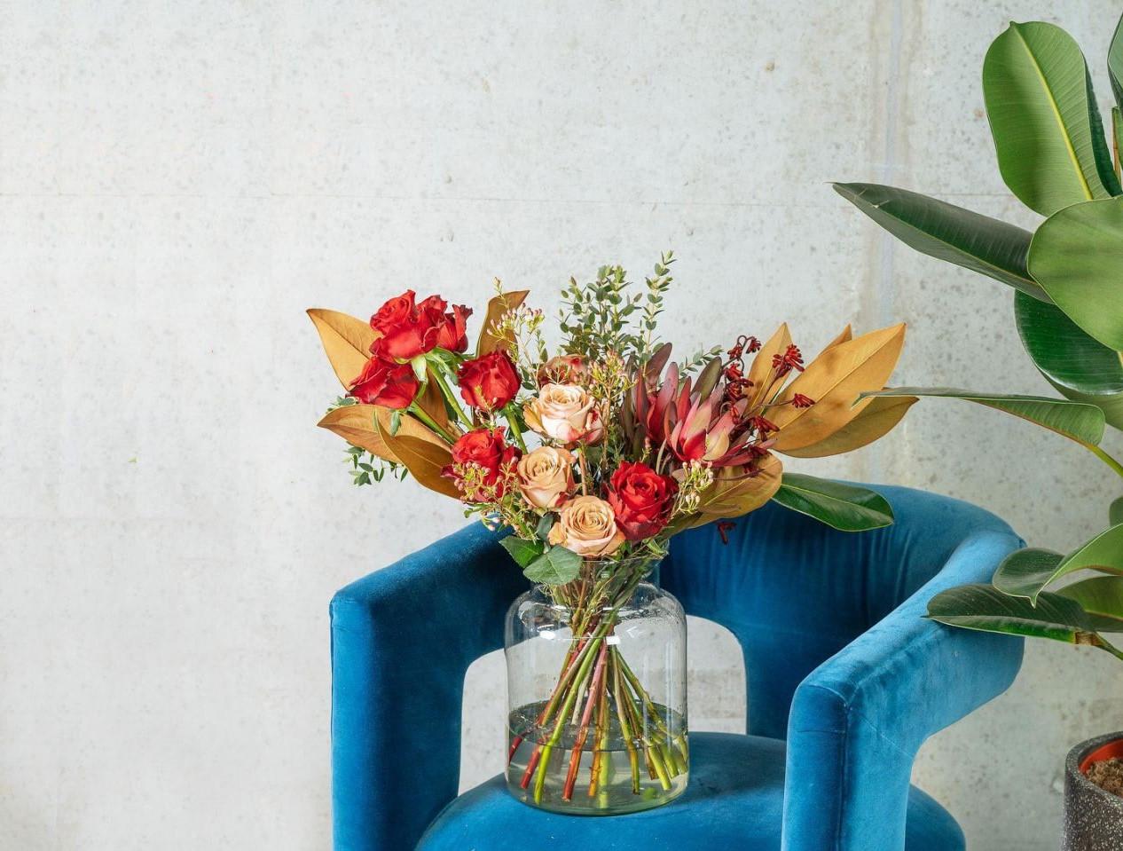 Bouquet de roses pour votre maman.