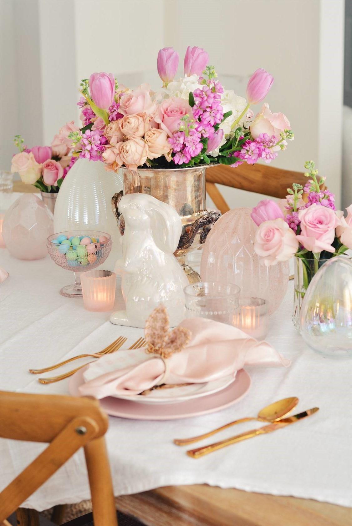 Centre de table et décoration élégants.