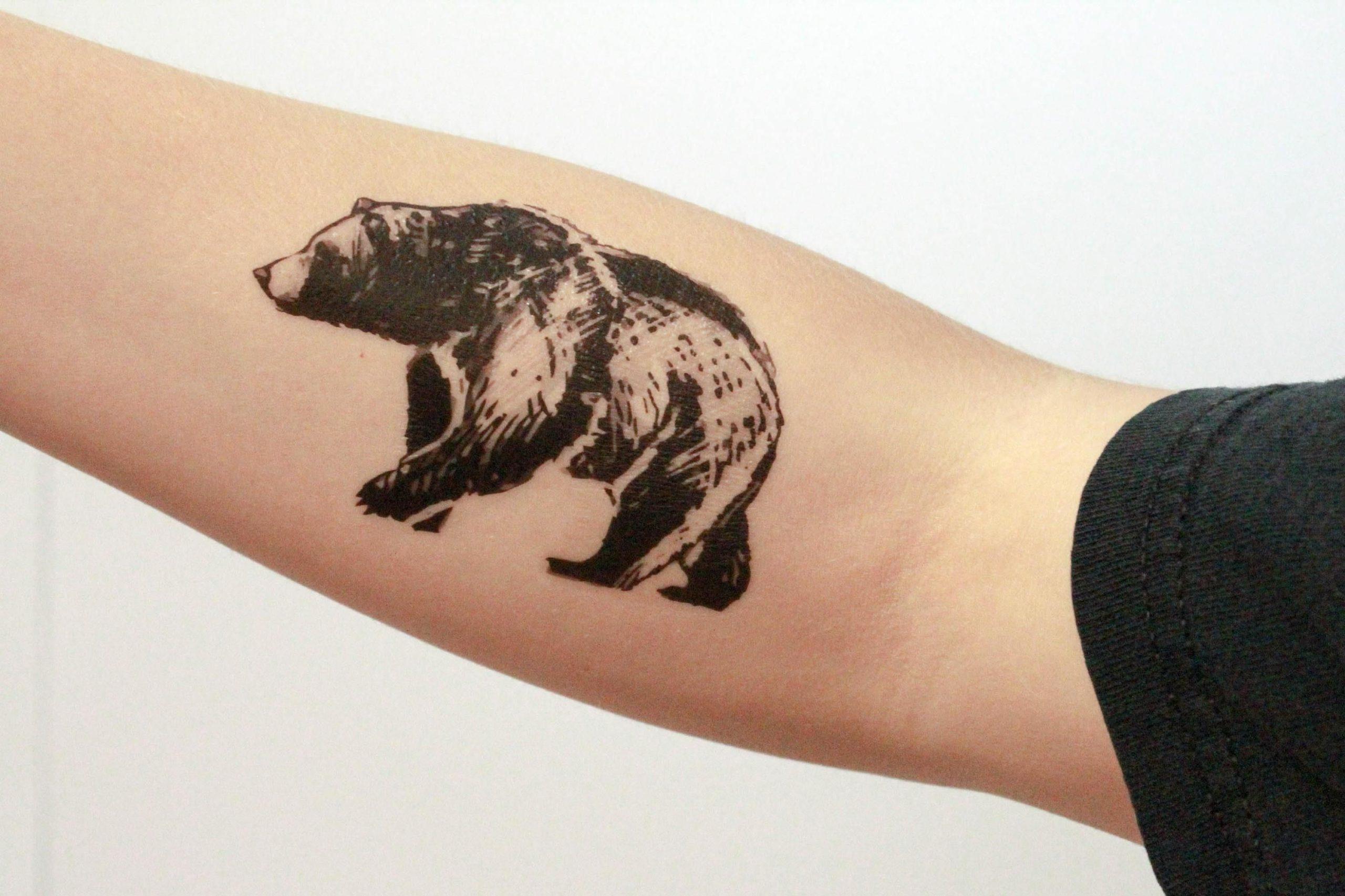 Pour les Amérindiens, l'ours est symbolique du pouvoir potentiel que l'on trouve dans le concept de paix, car ce grand animal à l'apparence féroce est en fait assez pacifique.