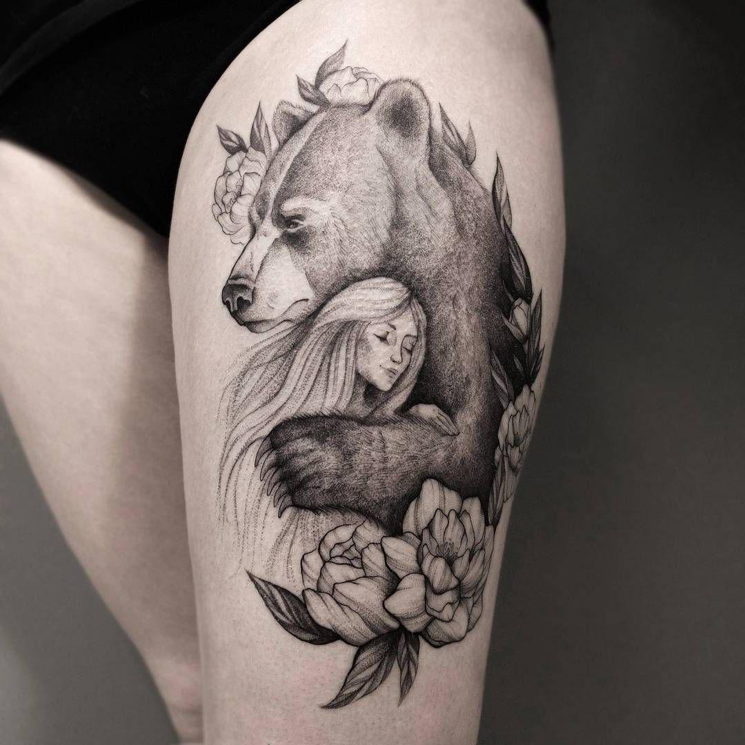 Quelle est la signification du tatouage ours?