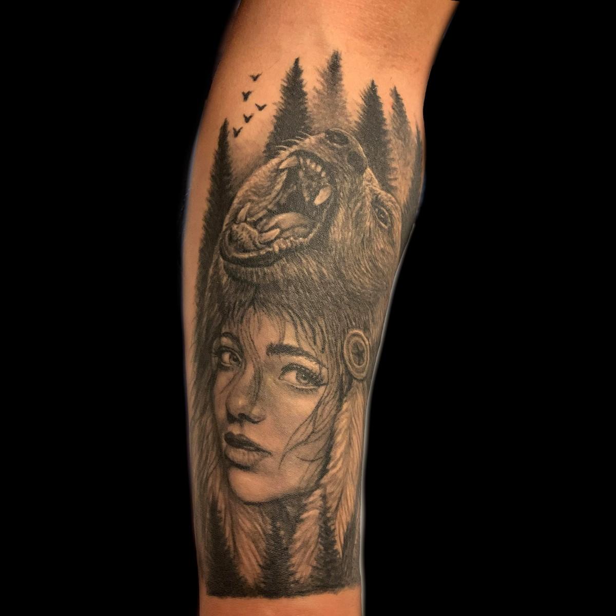 L'ours est associé à la déesse celtique Artio.