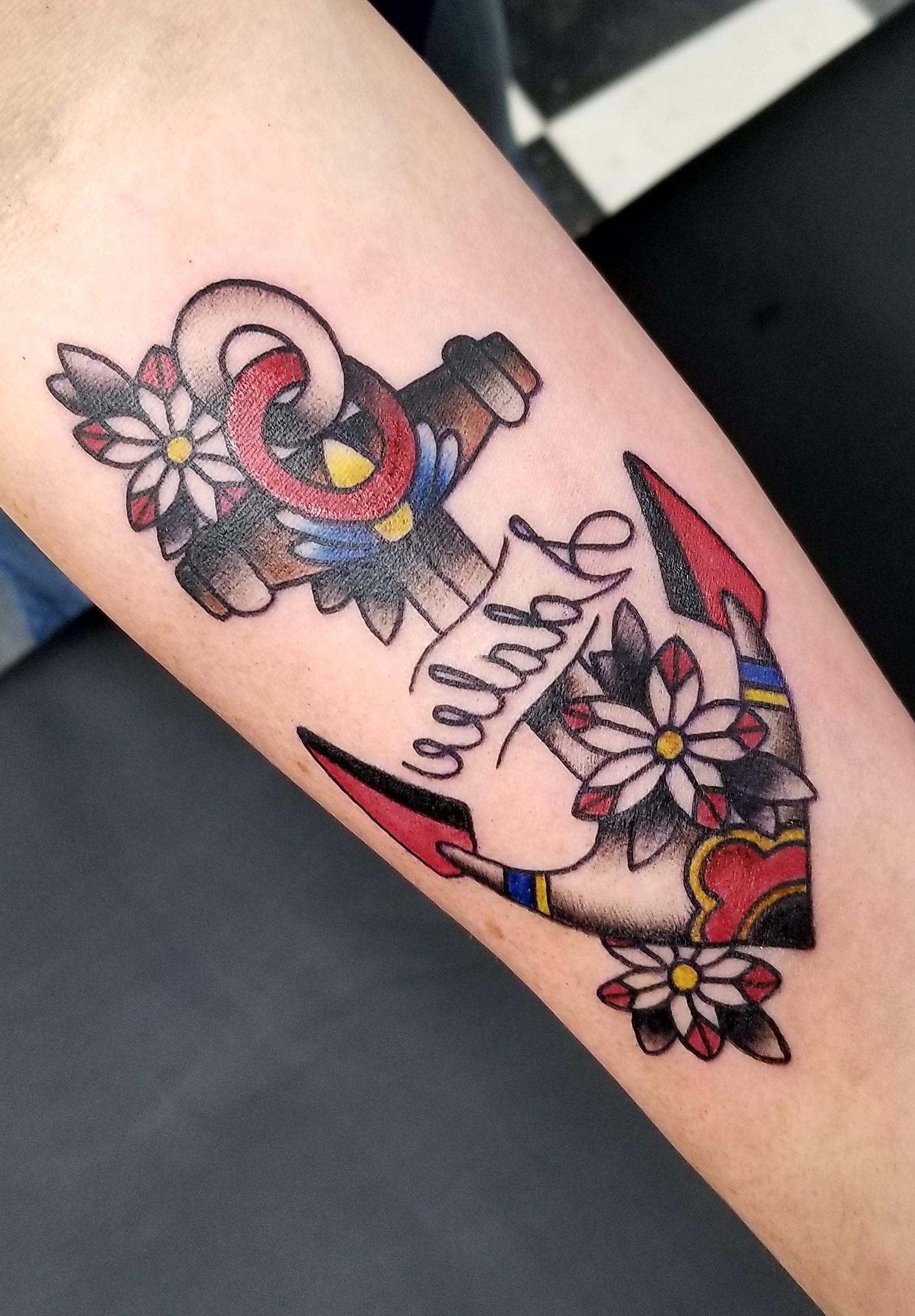 Un tatouage ancre peut avoir diverses significations, qui incarnent toutes les caractéristiques des nobles militaires.