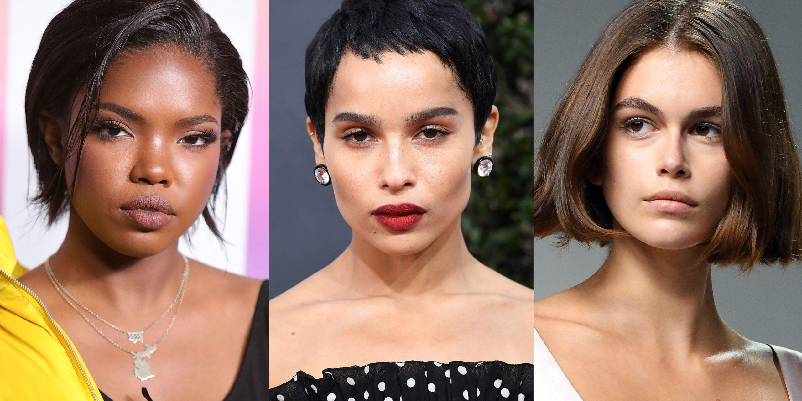 Idées de coiffure d'été 2020.