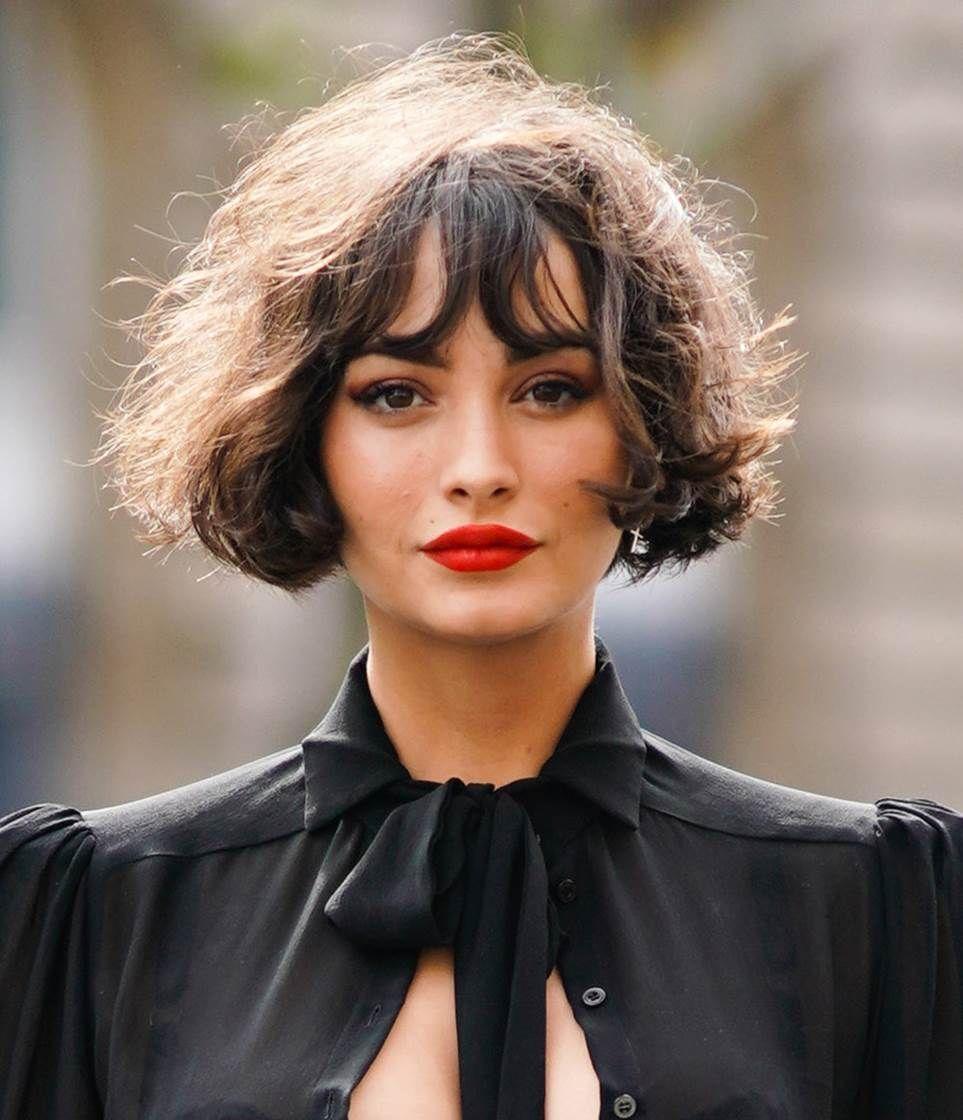 L'influenceuse Taylor Lashae est connue avec cette coupe de cheveux emblématique.