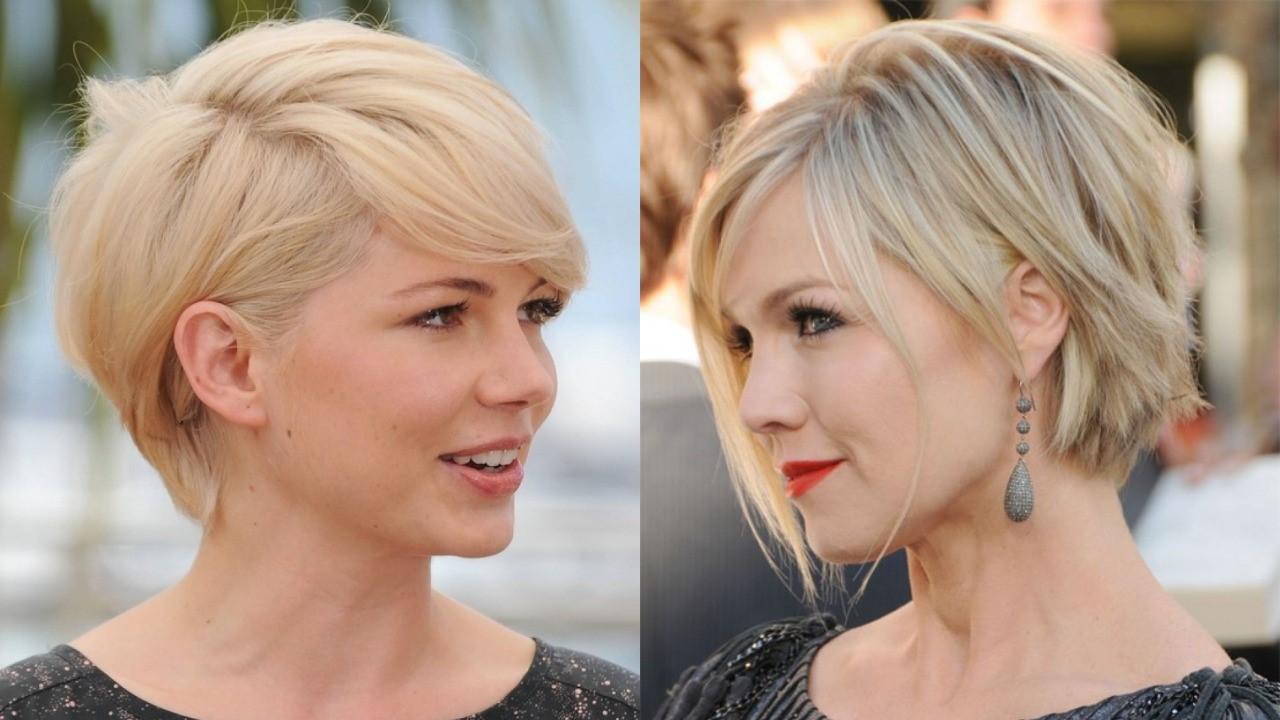 Les coiffures courtes se démarquent vraiment sur les cheveux blonds