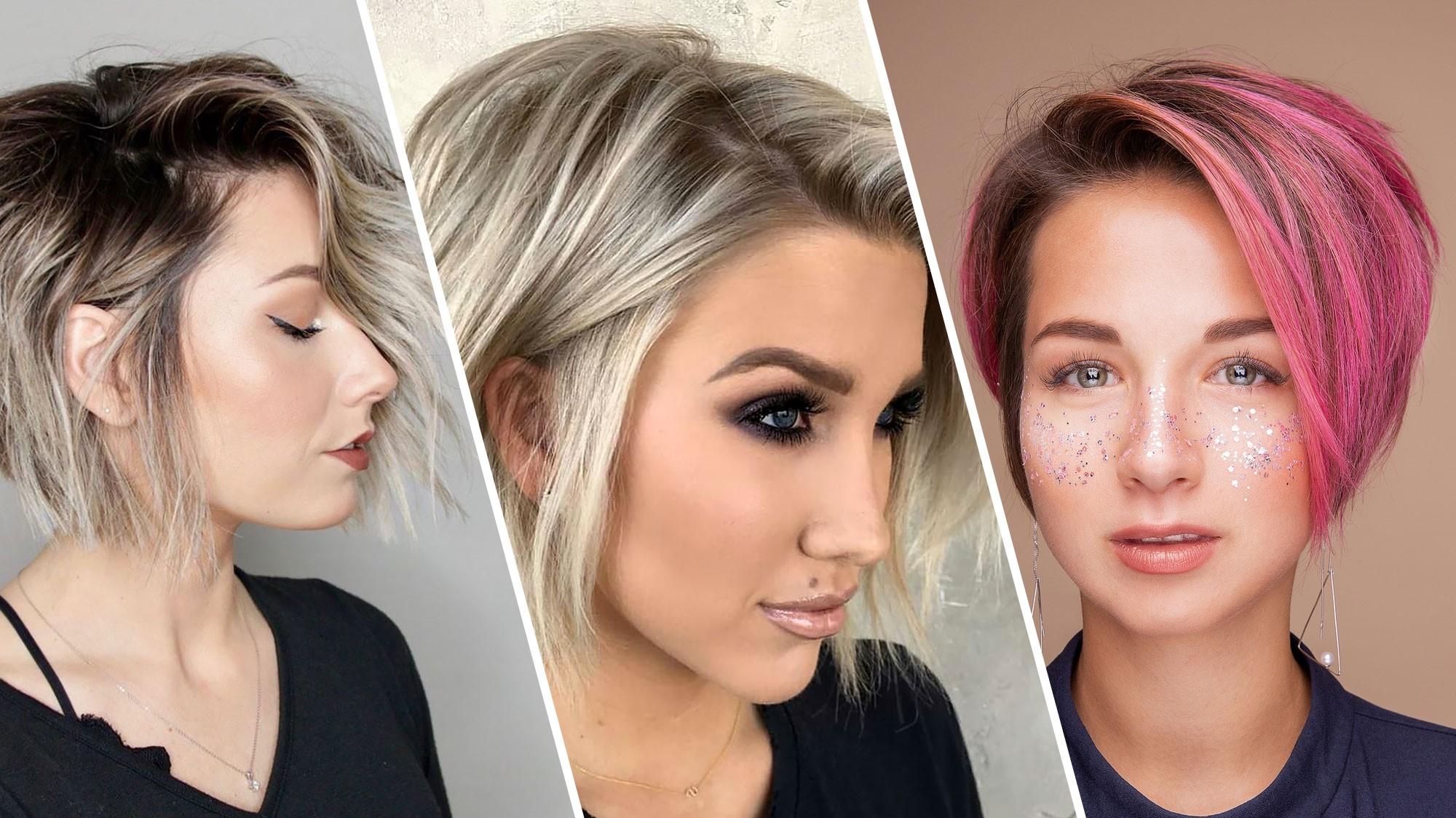 Coiffures tendance en 2020 : variations de la coupe de cheveux bob.