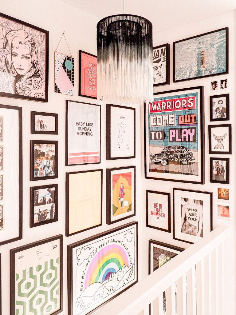 La tendance à organiser combiner plusieurs impressions murales se poursuit en 2020