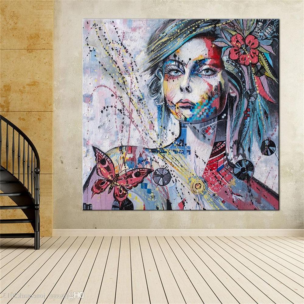 Art mural abstrait.