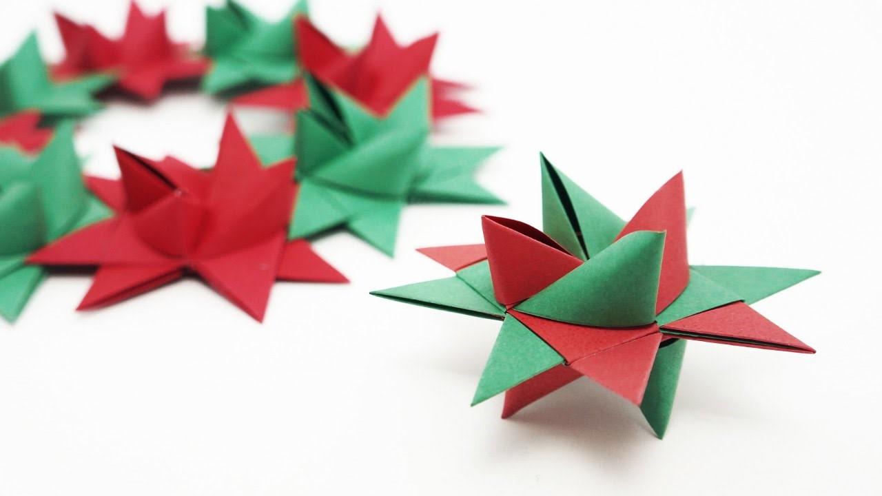 Origami bicolore.