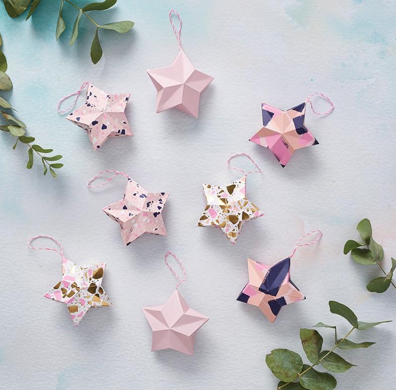 Étoile en origami facile.