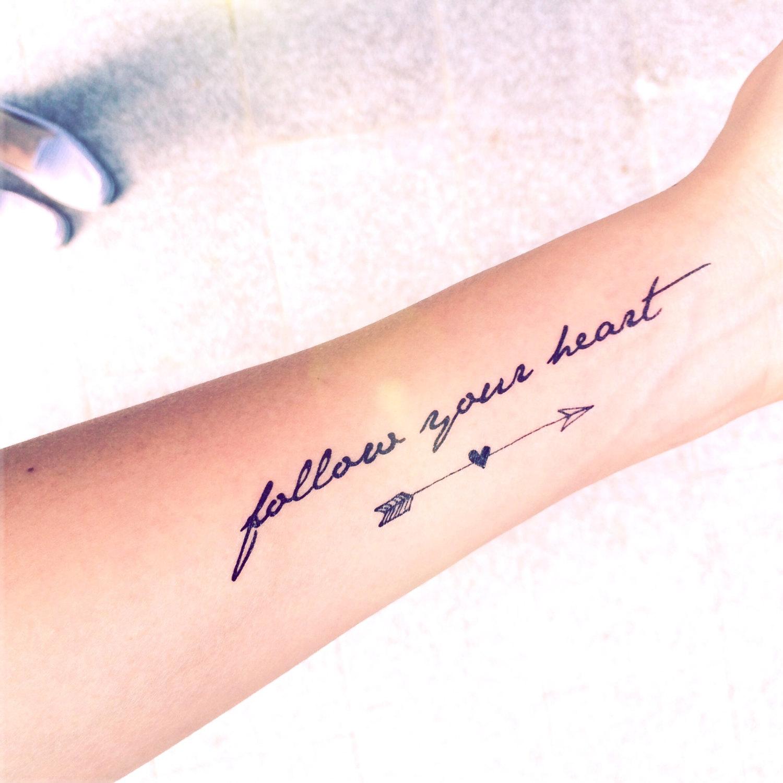 ''Suis ton coeur''.