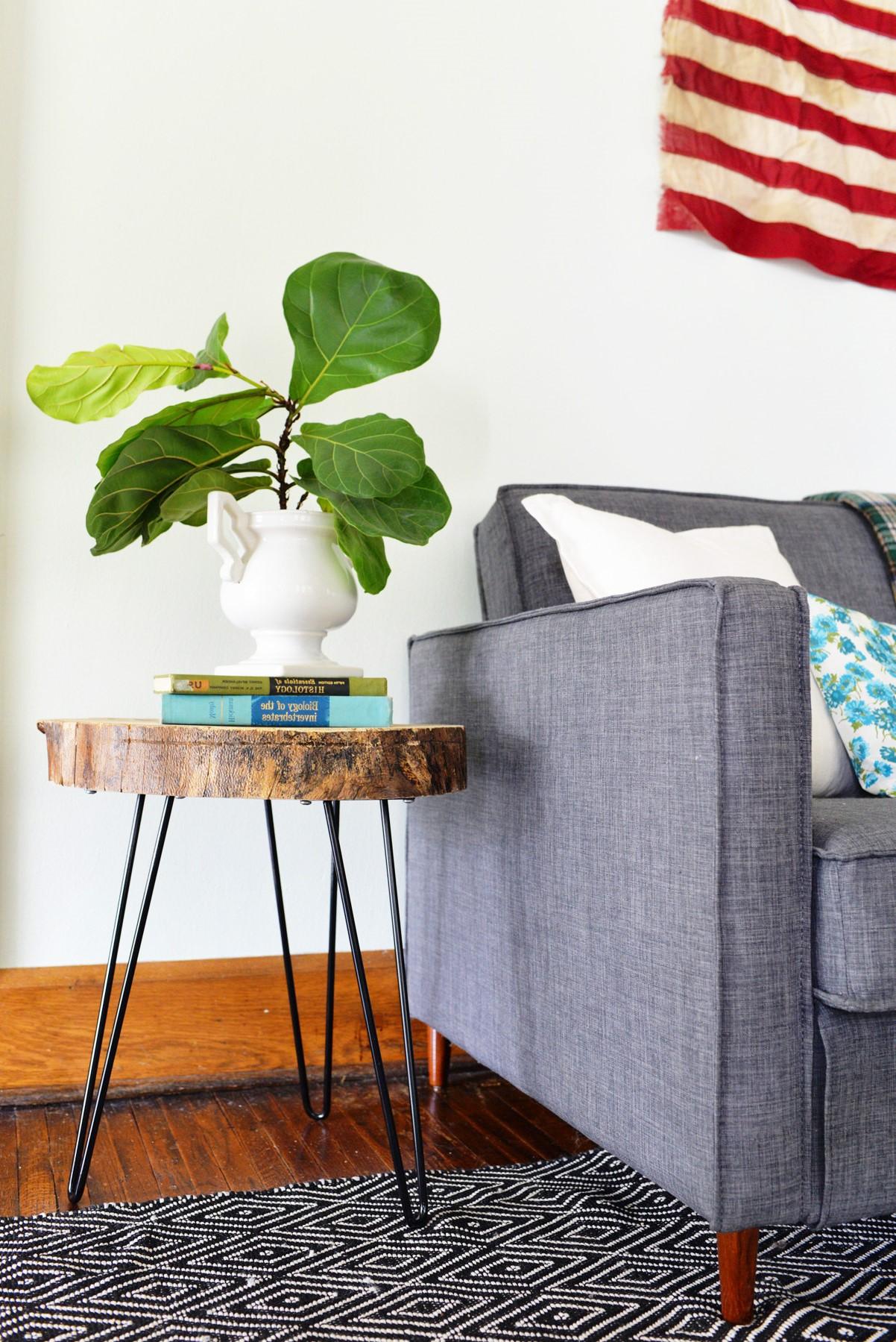 Table basse créative pour votre salon.